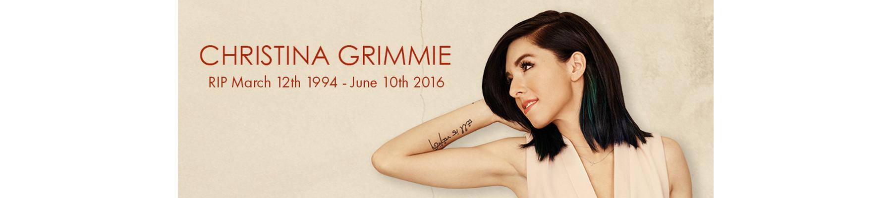 Team Grimmie \|/